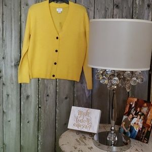 NEW YELLOW Old Navy xs Sweater Cardigan